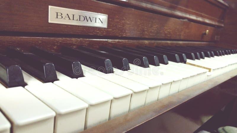 Piano bonito da imperfeição foto de stock royalty free