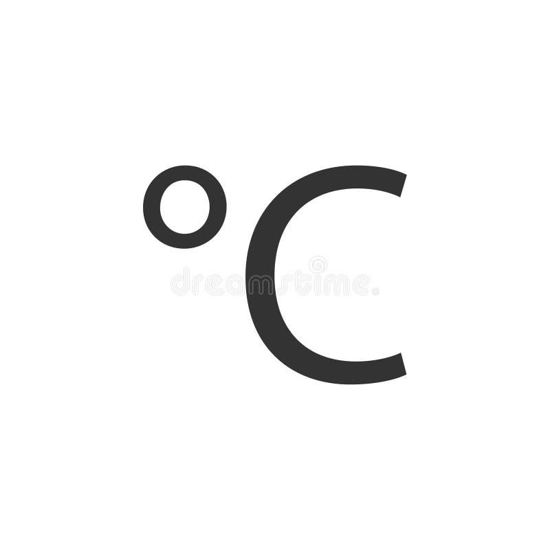 Piano centigrado dell'icona royalty illustrazione gratis