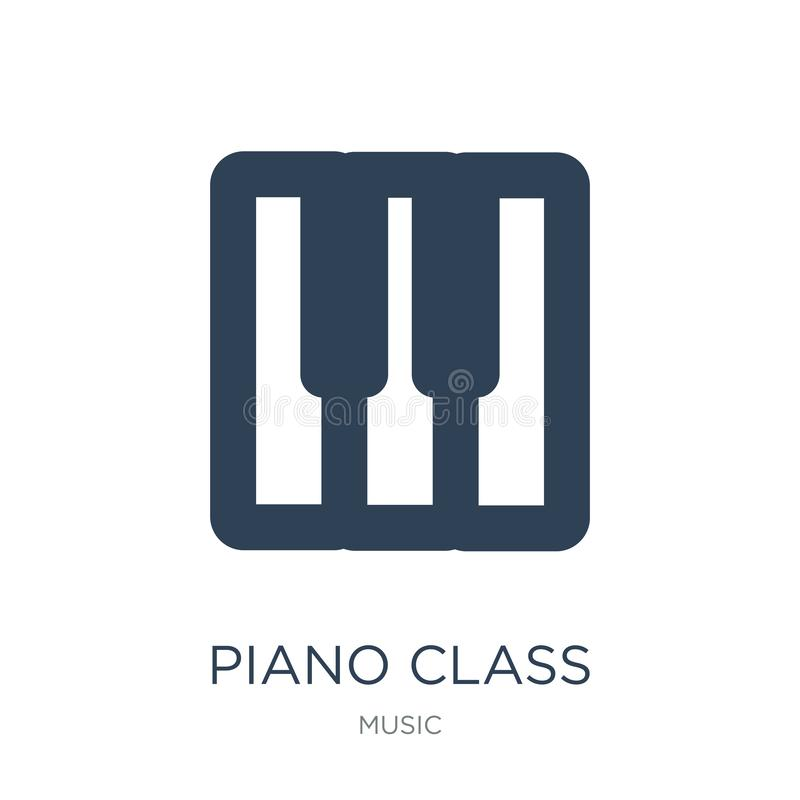 piano class icon in trendy design style. piano class icon isolated on white background. piano class vector icon simple and modern stock illustration