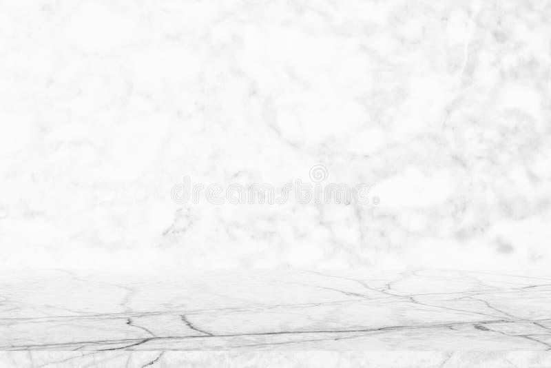 Piano d'appoggio di marmo vuoto sul fondo di superficie di marmo grigio di struttura di superficie di marmo reale di marmo della  fotografia stock libera da diritti