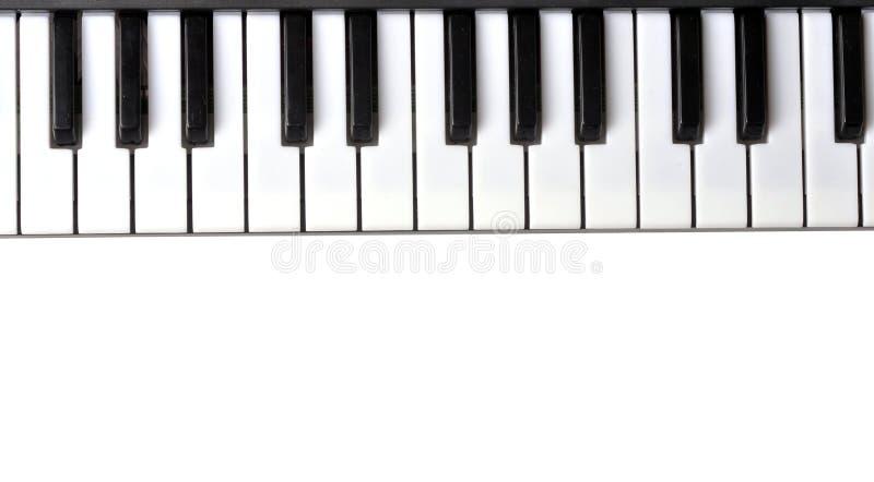 piano de clavier photo stock