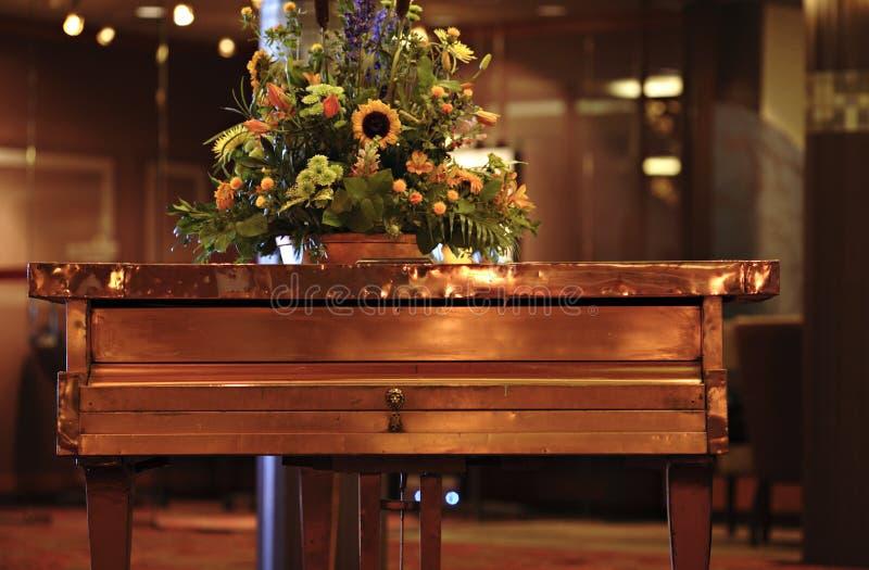 Piano de cobre fotos de stock royalty free