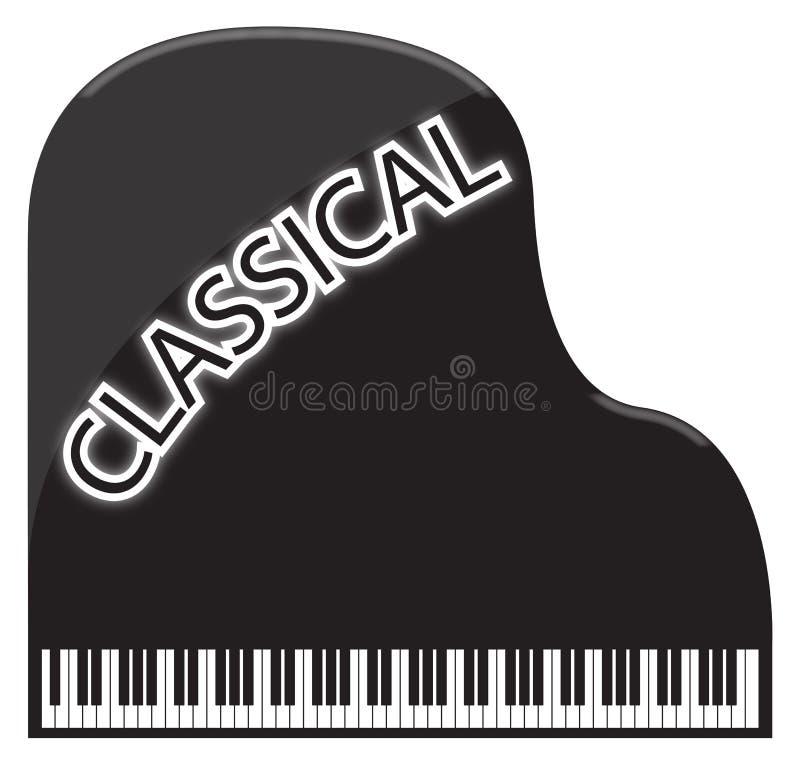Piano de cola clásico libre illustration