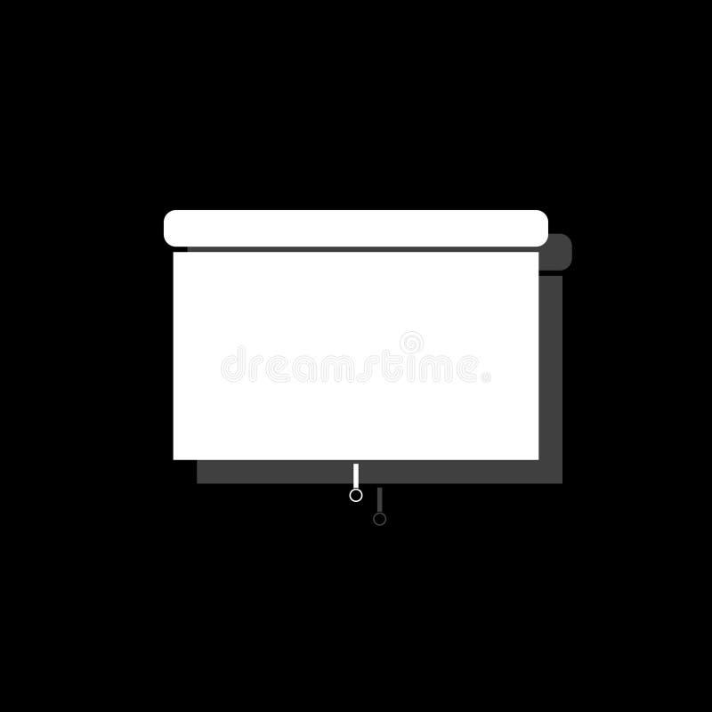 Piano dell'icona dei ciechi royalty illustrazione gratis