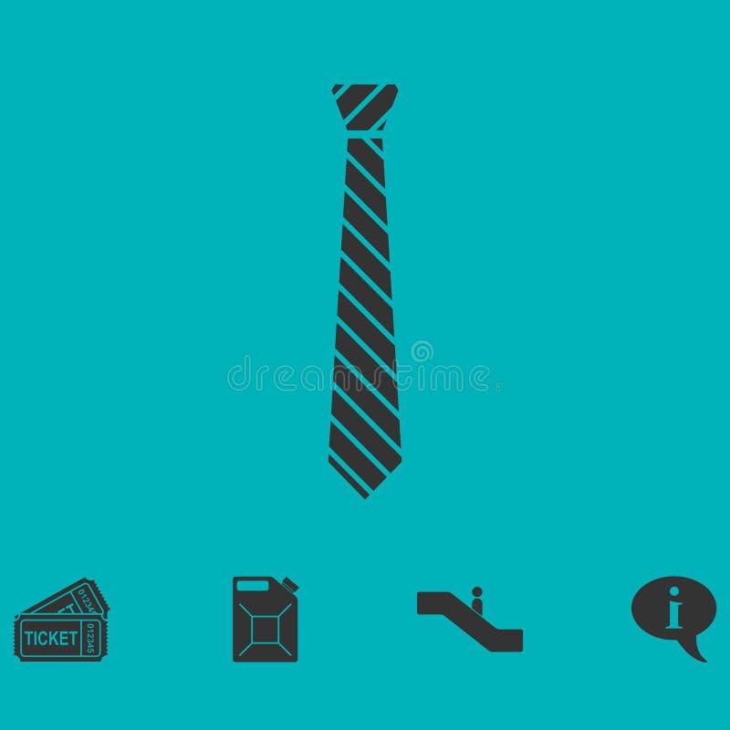 Piano dell'icona del legame illustrazione di stock