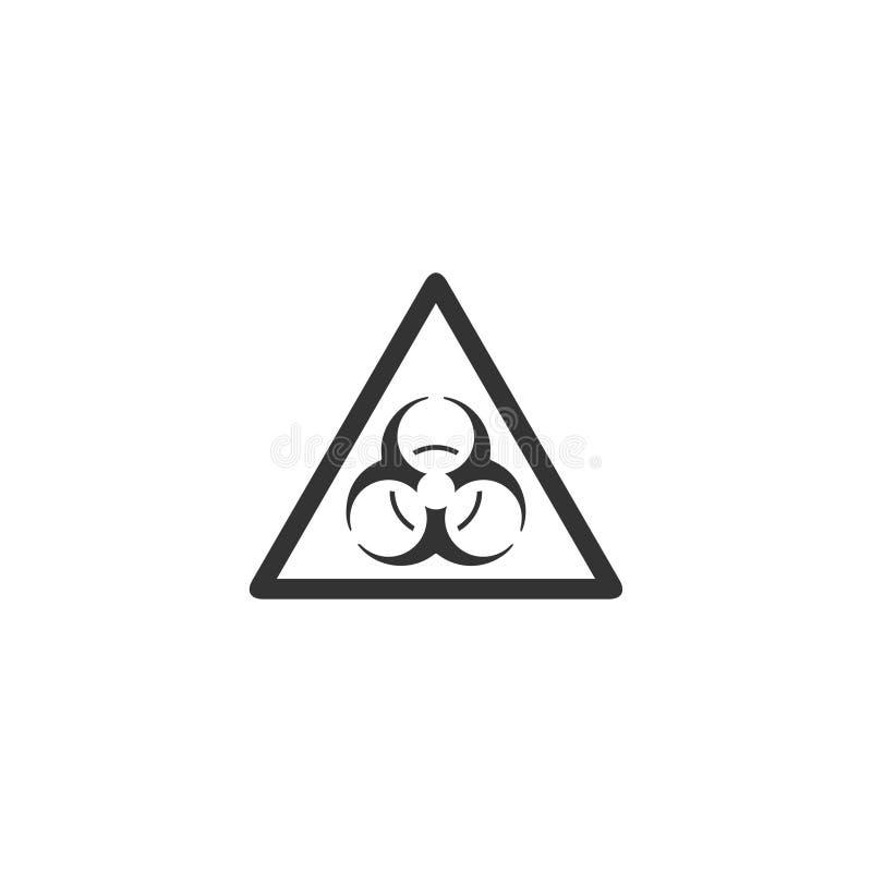 Piano dell'icona del virus royalty illustrazione gratis