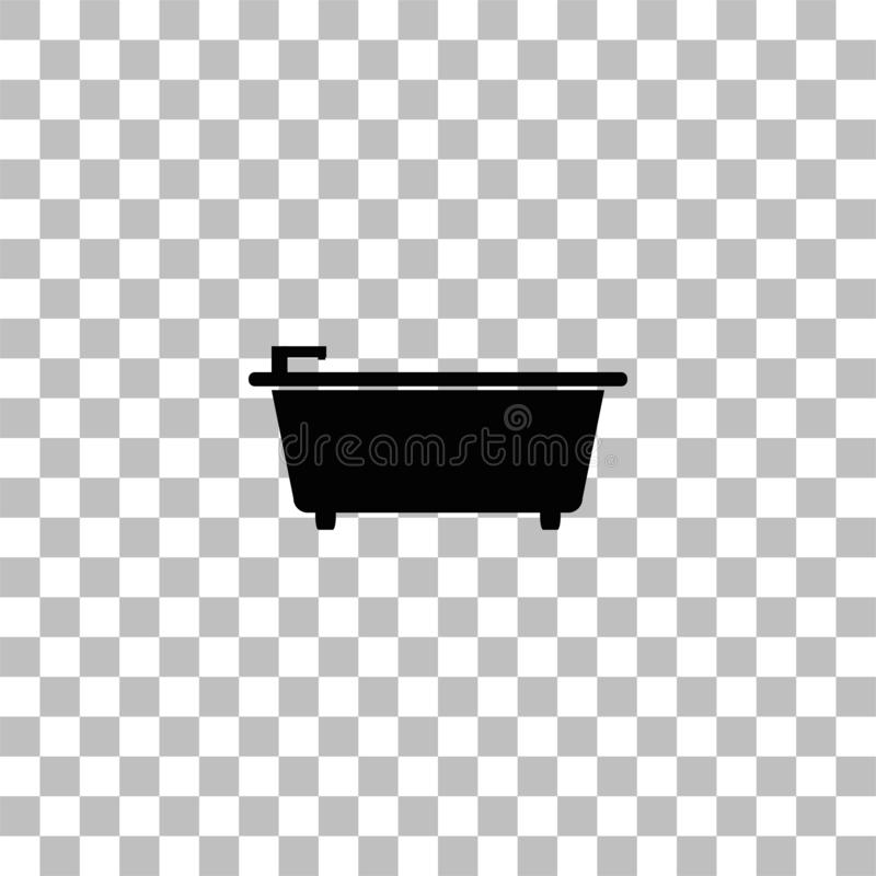 Piano dell'icona della vasca royalty illustrazione gratis