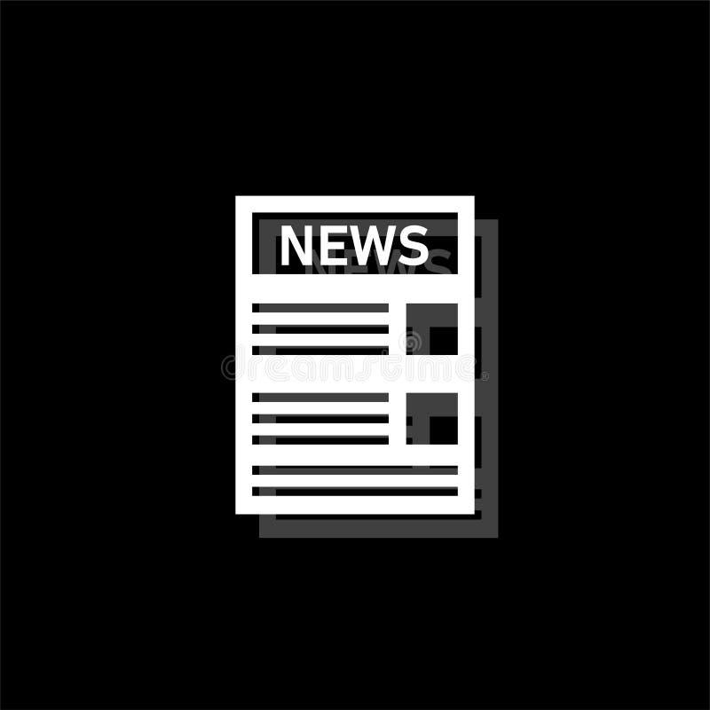Piano dell'icona di notizie royalty illustrazione gratis