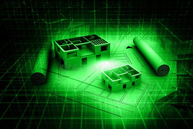 Fotografia stock immagine di 17222050 for Programmi architettura 3d