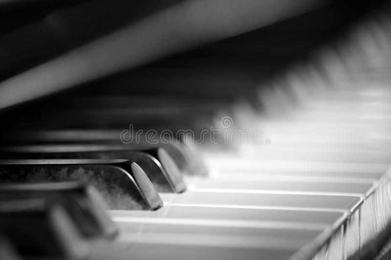 Piano Di Jazz Fotografia Stock