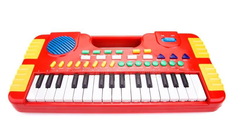 Piano do brinquedo das crianças fotografia de stock royalty free