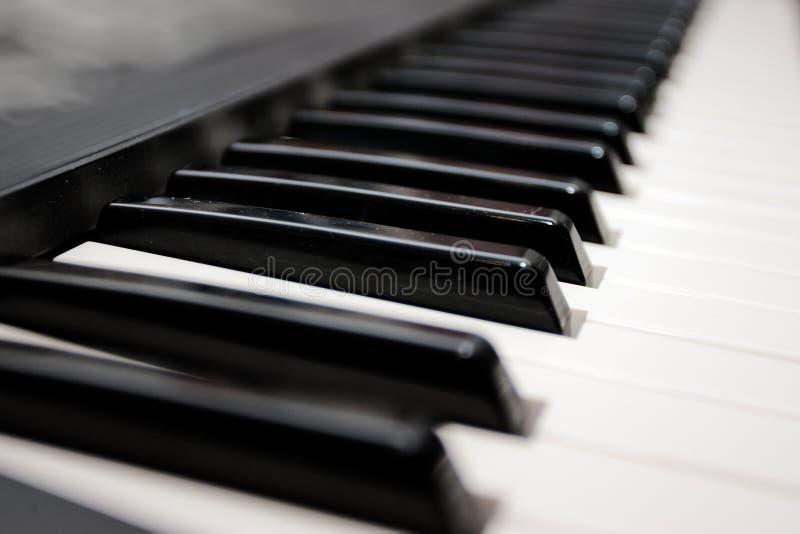 Piano do teclado fotografia de stock