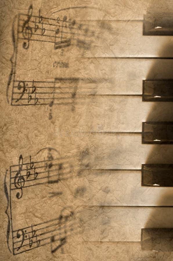 Piano. Fond de vintage image libre de droits