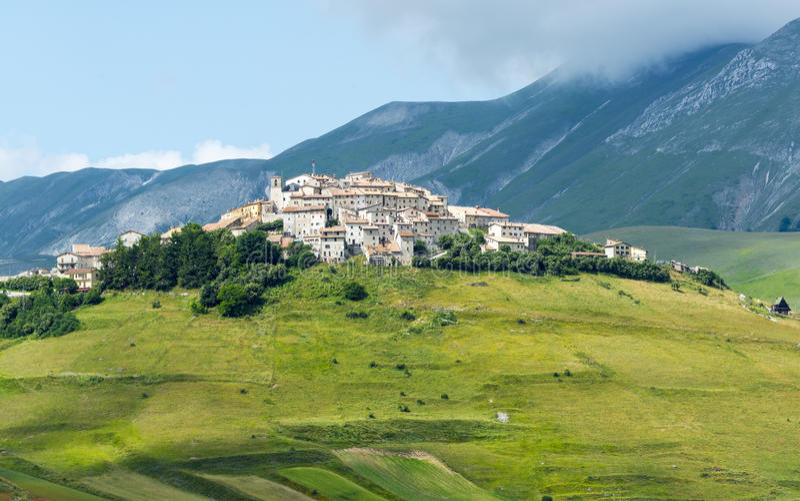Piano Grande Di Castelluccio (Ιταλία) στοκ εικόνες με δικαίωμα ελεύθερης χρήσης