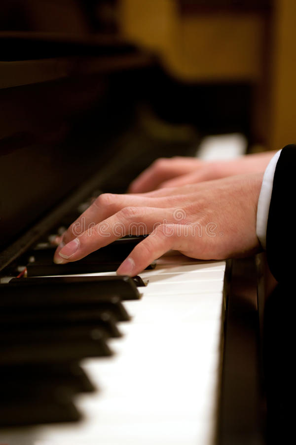 Download Piano hands stock image. Image of closeup, hitting, playing - 36994887