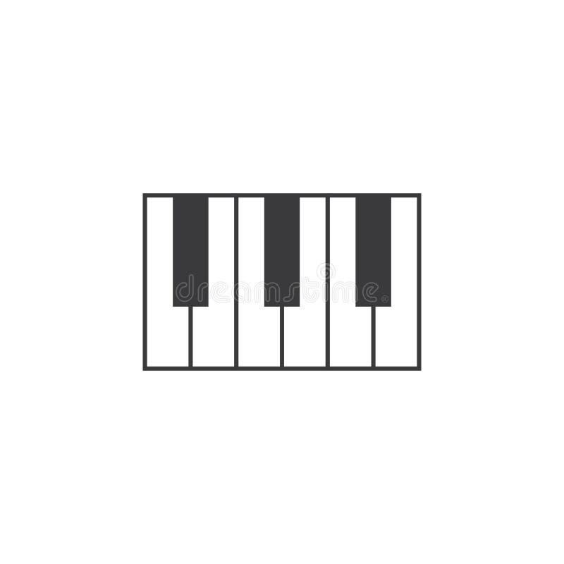 Golden Retro Restaurant Logo Set:  Logo Template, Music, Piano Keys, Vector Stock Vector