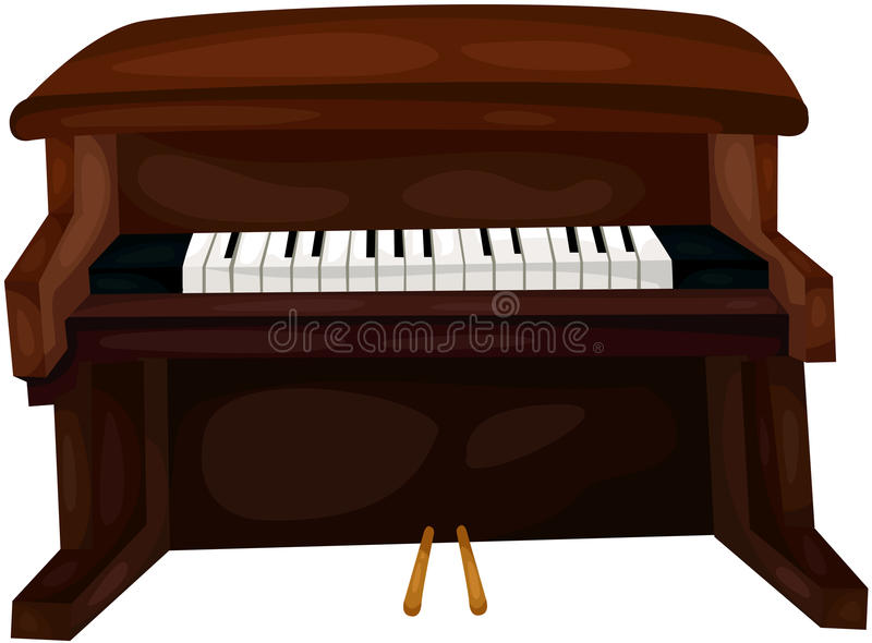Download Piano stock vector. Illustration of entertain, concept - 31535076