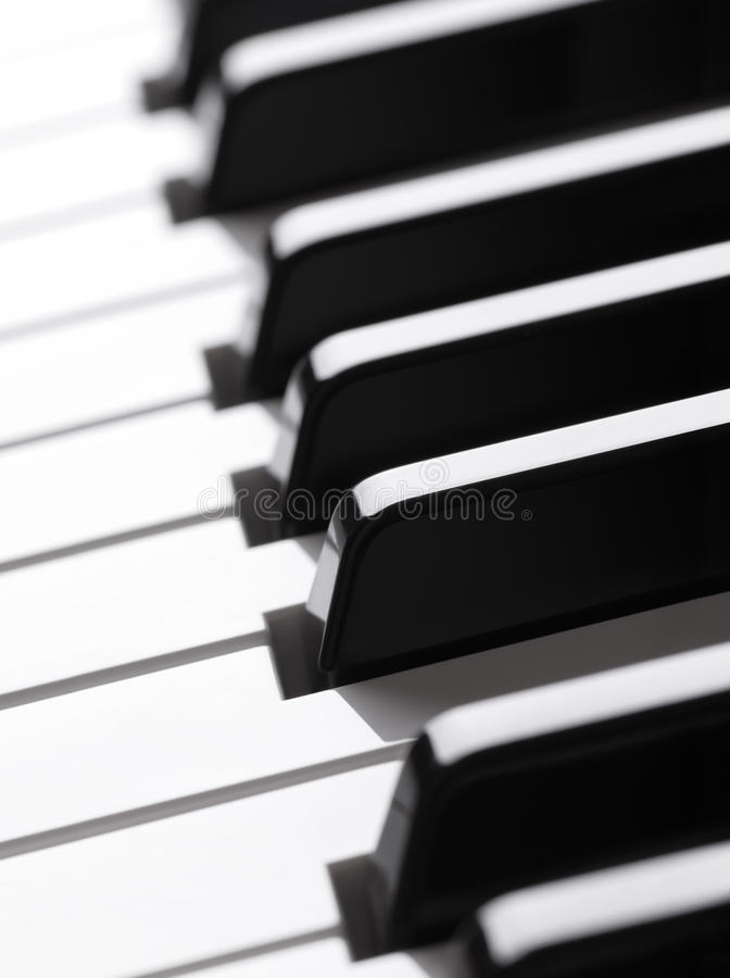 Download Piano keyboard stock image. Image of equipment, jazz - 24087721