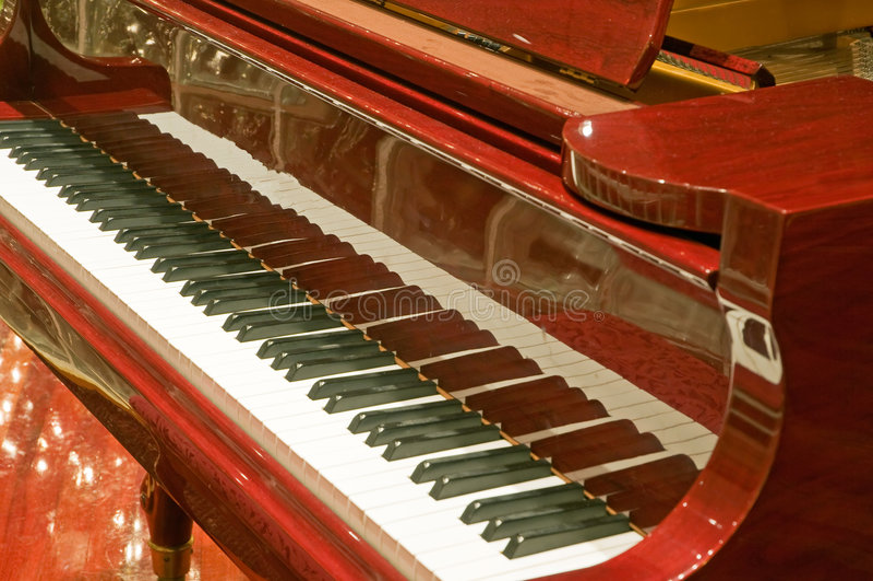 Piano keyboard baby grand