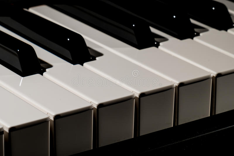 Download Piano keyboard stock image. Image of closeup, instrumental - 83709273