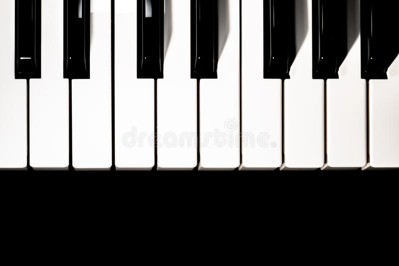 Download Piano keyboard stock image. Image of learning, effects - 83709621