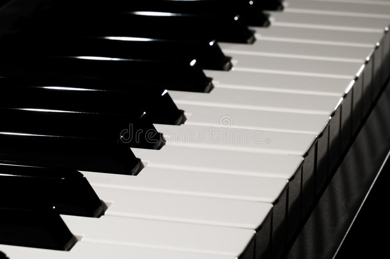 Download Piano Keyboard Stock Photo - Image: 83709821