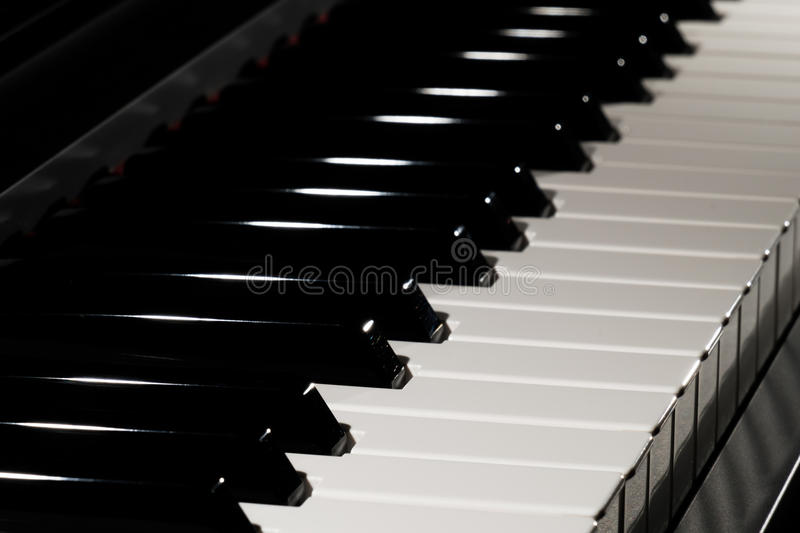 Download Piano keyboard stock image. Image of keyboard, effects - 83710645