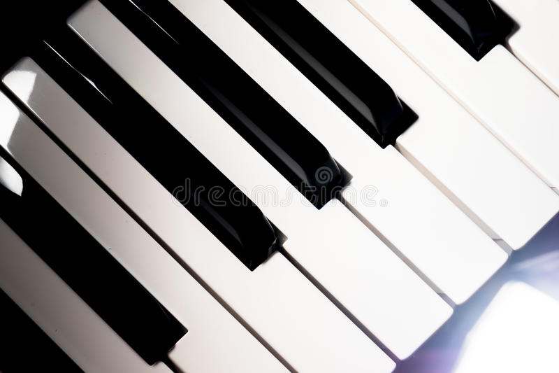 Download Piano keyboard stock image. Image of detail, compose - 83710969