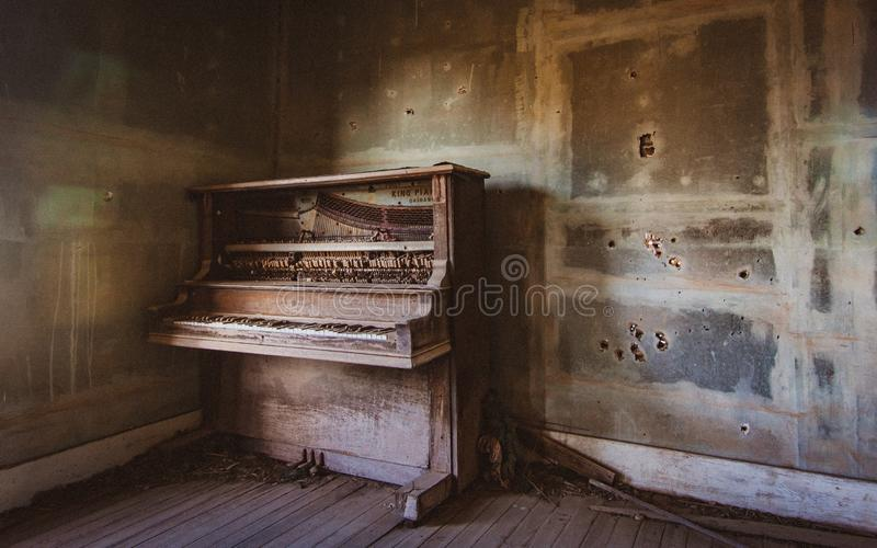 Piano, Keyboard, Player Piano stock photo