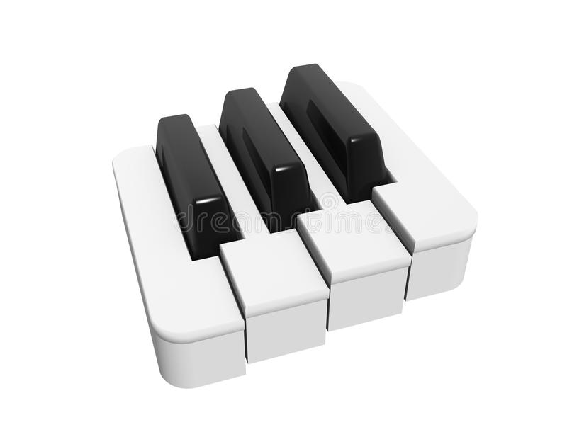 Piano Keyboard Symbol Stock Illustration Illustration Of Chord