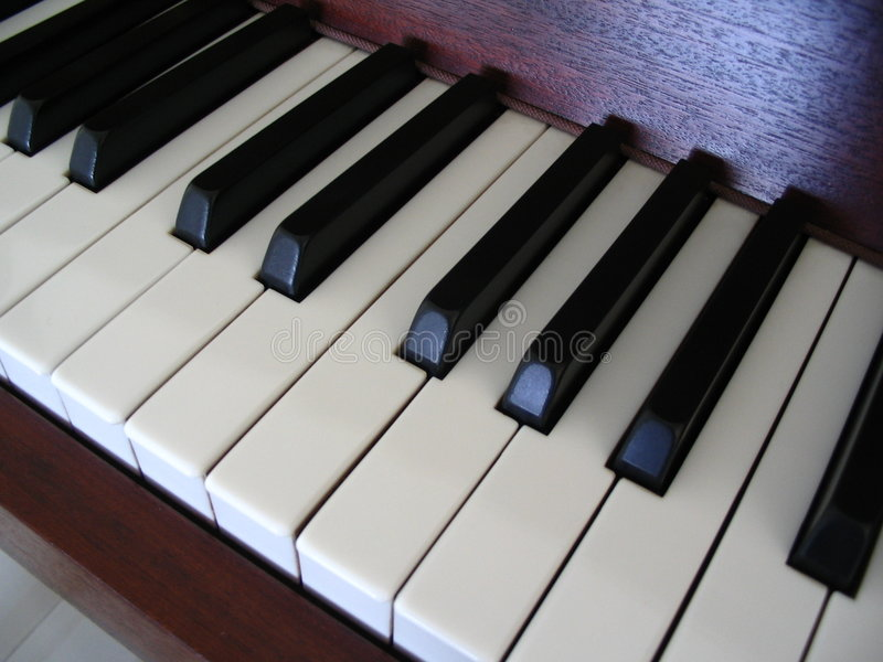 Download Piano keys stock photo. Image of music, black, piano, angle - 174436