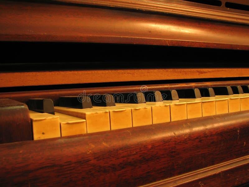Piano Keys And Keyboard Royalty Free Stock Images