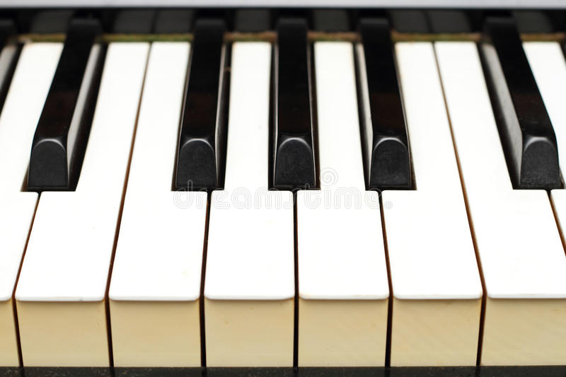Download Piano keys from side stock photo. Image of instrument - 24426060