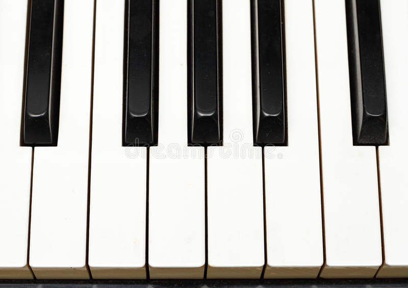 Download Piano keys from Top stock image. Image of instrument - 24426091