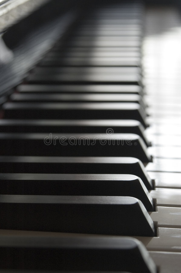 Free Piano Keys Trail Stock Image - 1336681