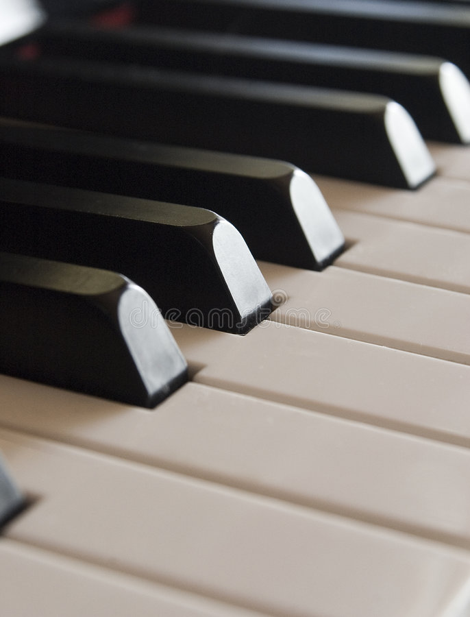 Free Piano Keys Trail Royalty Free Stock Photo - 1336735