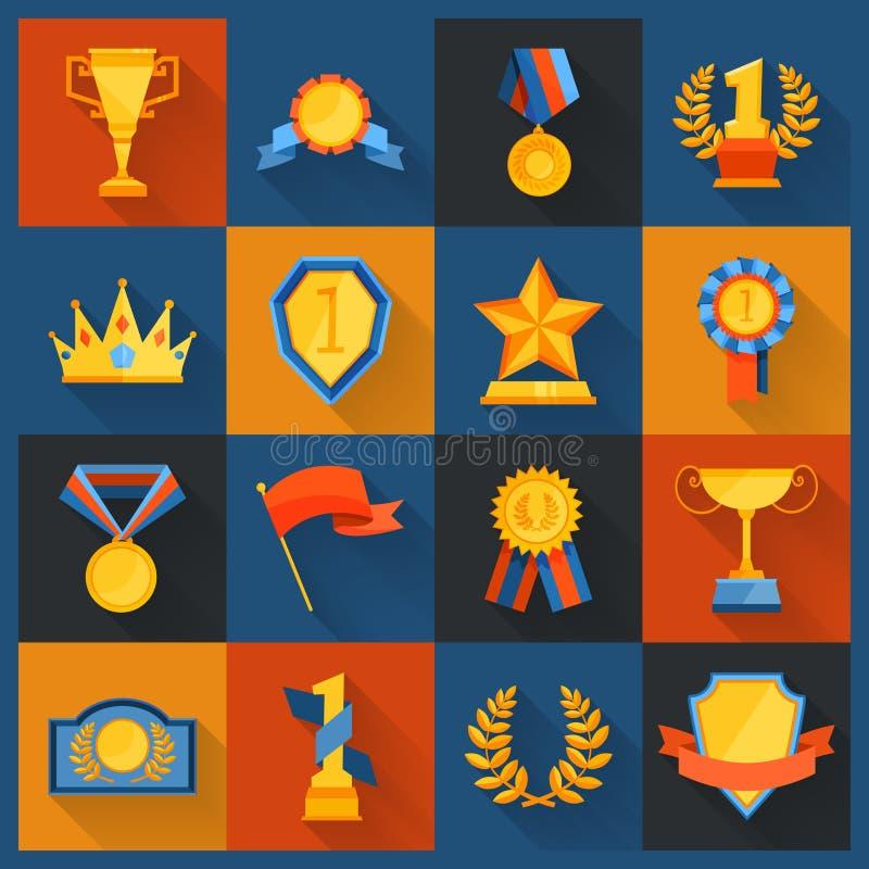 Piano messo icone del premio royalty illustrazione gratis