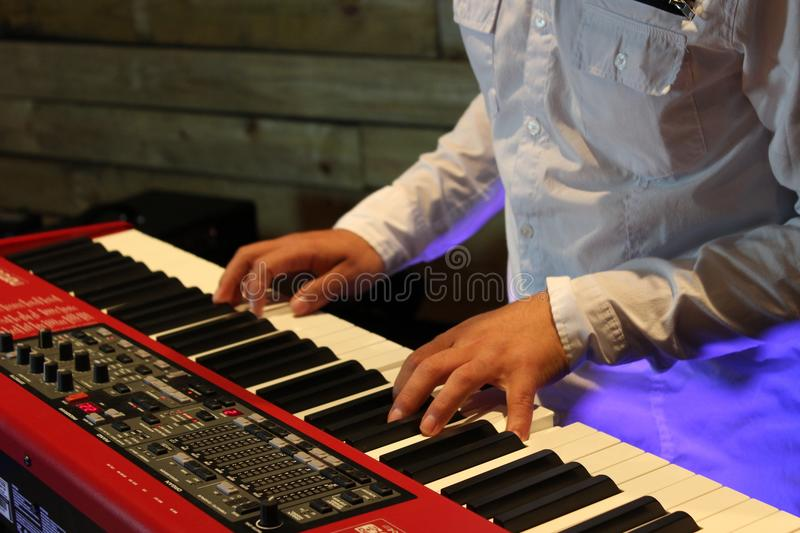 Piano, Musical Instrument, Keyboard, Keyboard Player royalty free stock photography