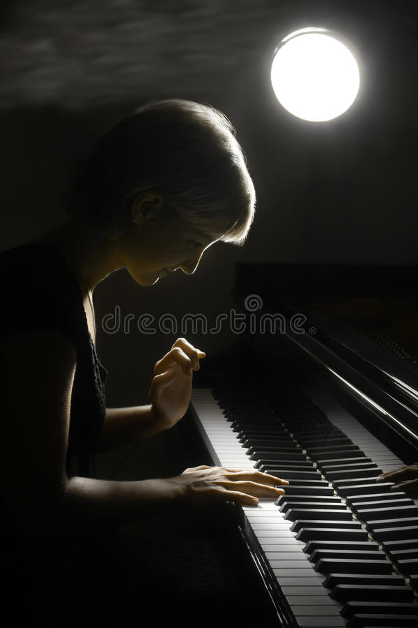 Free Piano Musician Pianist Stock Photography - 21569992