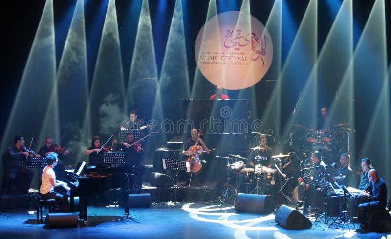 Download Piano Pop Zade Dirani Performs At Bahrain, 2/10/12 Editorial Stock Image - Image: 26998324