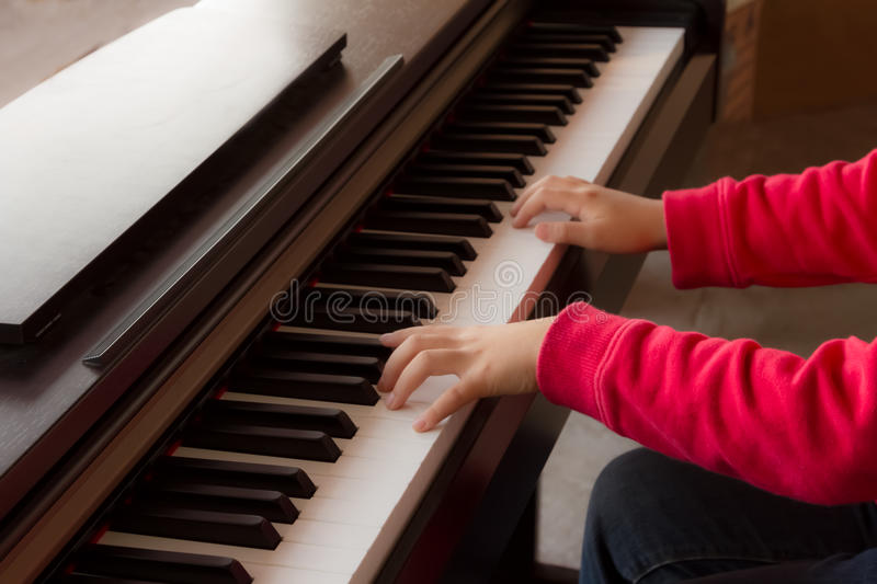 Piano. The popula musical instrument in the world stock photos