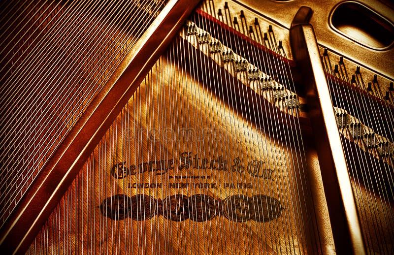 Piano rigide de George photos stock