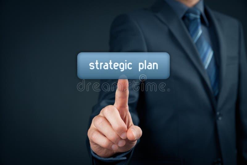 Piano strategico fotografie stock