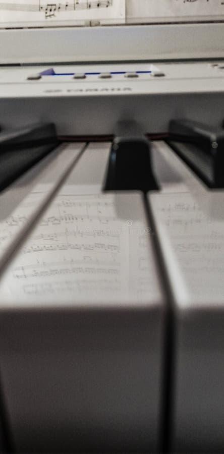 Piano stock afbeeldingen