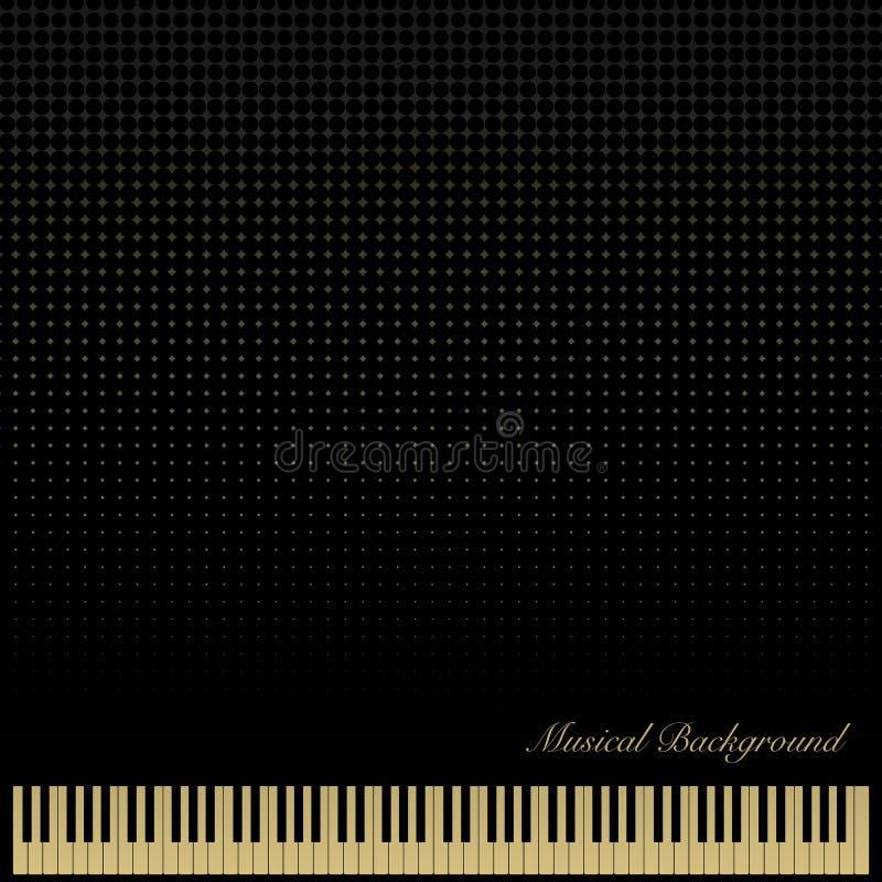 PianoKeyboardBlackBackground zdjęcia royalty free