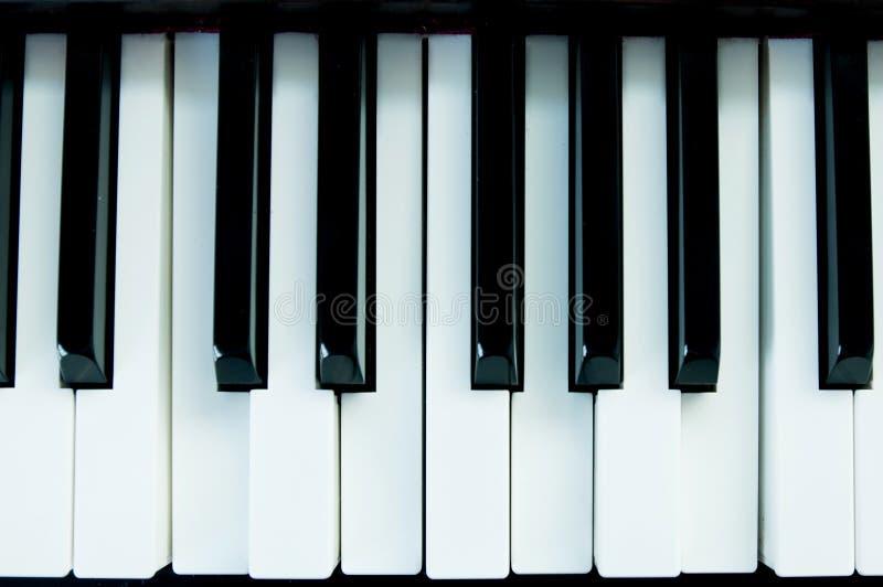 Pianokeys stock foto