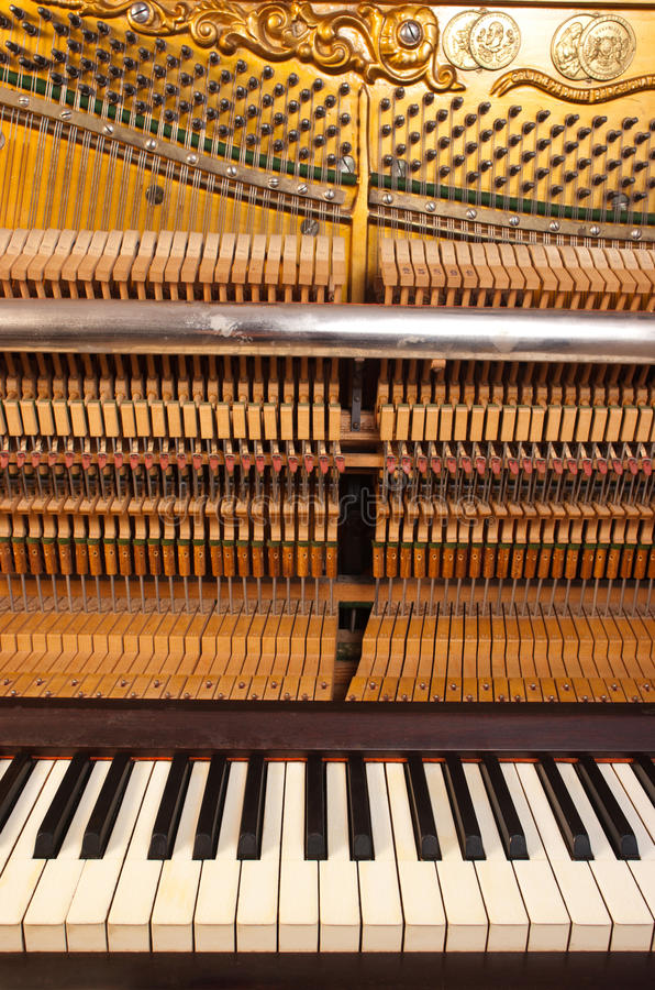 Pianomusik arkivfoton