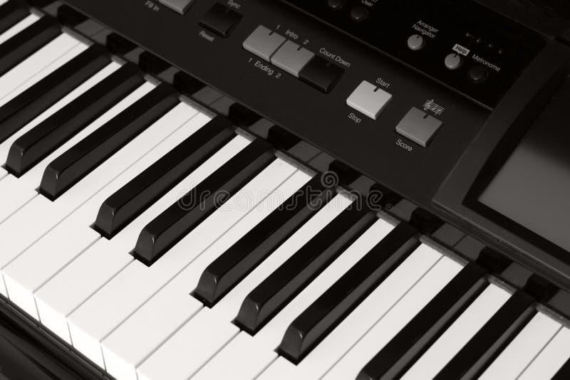 Pianostudy photographie stock libre de droits