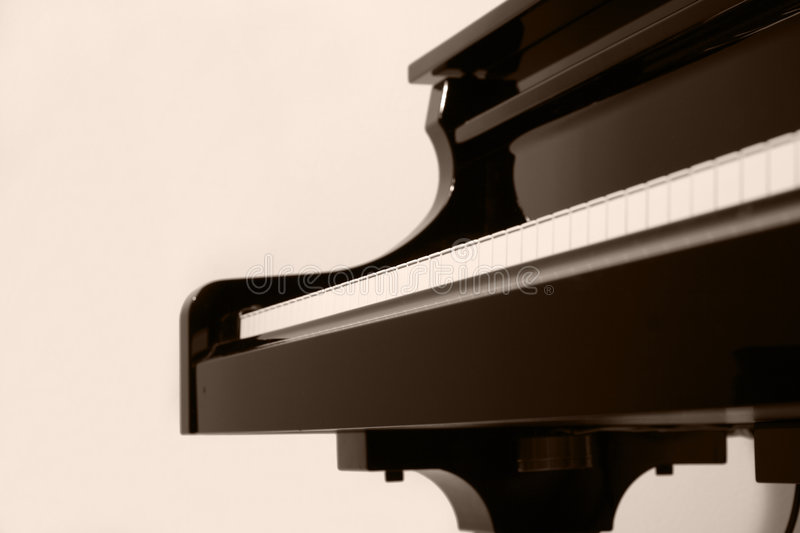 Pianostudy royalty free stock photography
