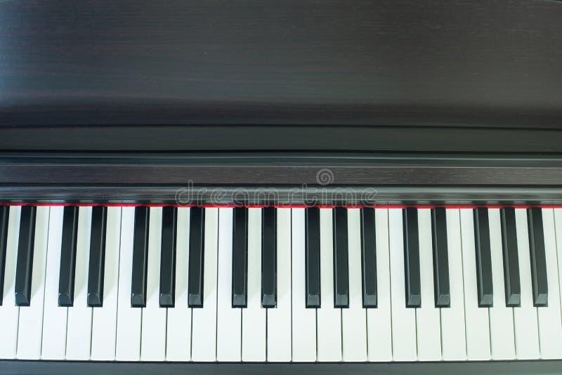 Pianotangent royaltyfria bilder